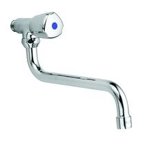 Kludi, Standard, robinet bucatarie cu pipa mobila, crom