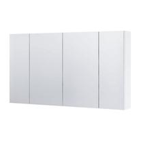 Dulap cu oglinda, 105 cm, alb, Dallas