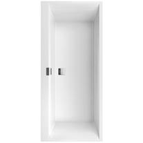 Cada pentru inzidire, 170 x 75 cm, alb, Squaro Edge