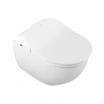 Vas WC suspendat Villeroy & Boch, Subway 2.0, direct flush, pentru capac cu functie de bideu ViClean, alb