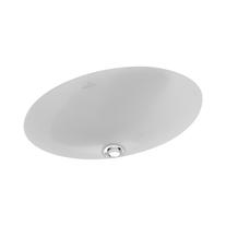 Lavoar sub blat Villeroy & Boch, Loop & Friends, 40 cm, oval, fara preaplin, alb alpin