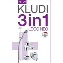 Kludi, Logo Neo, set 3 in 1, crom