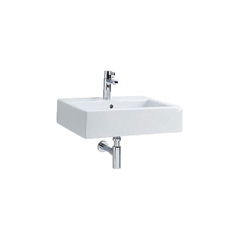 Lavoar rectangular, alb, 50 x 46 cm, Twins