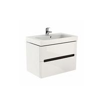 Kolo, Modo, mobilier pentru lavoar 80 cm, alb lucios