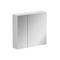 Dulap cu oglinda Opoczno, Street Fusion, fara sistem de iluminare, 70 cm, alb