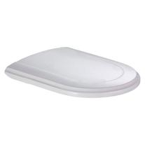 Capac WC Villeroy-Boch, Hommage, soft close, alb