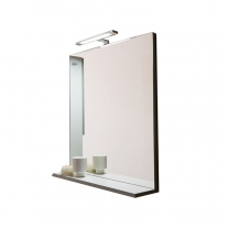 Oglinda cu polita Kolpasan, pentru mobilier Lana 65 cm, lemn deschis