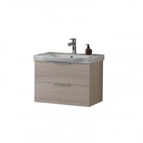 Set lavoar + mobilier Kolpasan, Lana II, 65 cm,lemn deschis