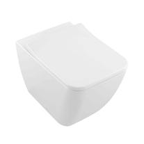 Vas WC stativ, direct flush, rectificat, alb, Legato