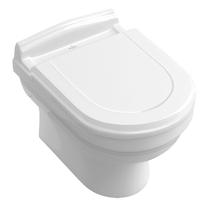 Vas WC suspendat Villeroy & Boch, Hommage, alb stralucitor (Star White), CeramicPlus