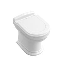 Vas WC stativ Villeroy & Boch, Hommage, CeramicPlus, alb