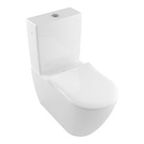 Vas WC stativ Villeroy & Boch, Subway 2.0, monobloc, rectificat, alb