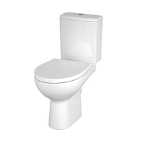 Set vas WC Cersanit, Nature, compact, cu capac Soft-Close si Easy Off inclus