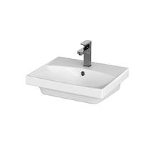 Lavoar pentru mobilier Cersanit, City, 50 cm, alb