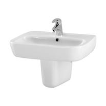 Lavoar suspenda Cersanit, Facile, 60 cm, alb