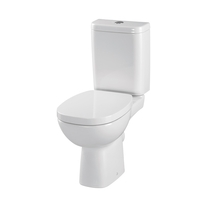 Set vas WC Cersanit, Facile, stativ cu rezervor si capac inclus