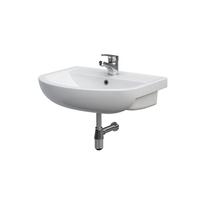 Lavoar pe mobilier Cersanit, Arteco, 50 cm, alb