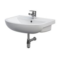 Lavoar pentru mobilier Cersanit, Arteco, 60 cm, alb