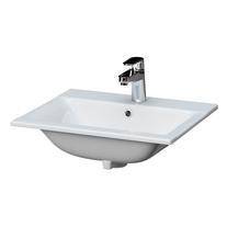 Lavoar incastrabil,Cersanit, Ontario New,  50 cm, alb