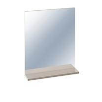 Oglinda Cersanit, Easy, cu etajera, 50 x 12 x 60 cm, capucino