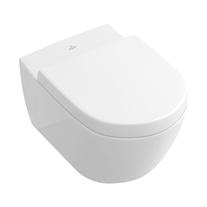 Vas WC suspendat Villeroy & Boch, Subway 2.0, alb, tratament CeramicPlus