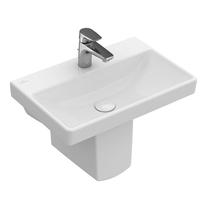 Lavoar suspendat Villeroy & Boch, Avento, 55 cm, alb alpin