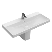 Lavoar Villeroy & Boch, Avento, dreptunghiular, 80 cm, alb alpin