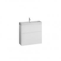 Set lavoar  + mobilier Kolpasan, Oxana, 60 cm, alb mat