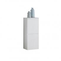 Kolpasan, Oxana, dulap cu 2 usi, 95 x 40 cm, alb mat