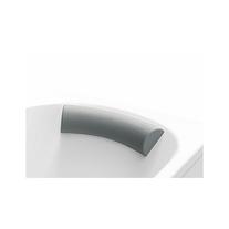 Tetiera gri pentru cada Comfort Plus, 75 cm