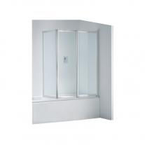 Paravan din 3 piese pentru cada de baie, 140 x 140 cm, Top Line
