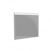 Oglinda Kolpasan, Gloria, 70 cm, cu iluminare led, sensor touch, rama neagra