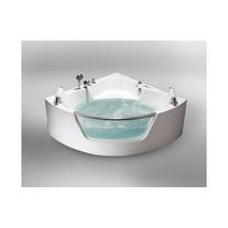 Cada de baie asimetrica, acril sanitar, 150 x 150 cm, Tivoli E-Drive
