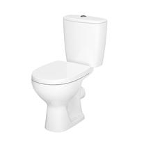 Cersanit, Arteco New, set vas WC stativ, Rimless cu rezervor si capac Soft-Close si Easy Off inclus