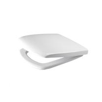 Capac WC Cersanit, Carina, din duroplast cu Soft-Close, alb