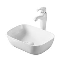 Lavoar pe blat Fluminia, Fides, alb, 48.5 x 39.5 cm
