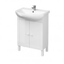 Cersanit, Arteco New, set mobilier+lavoar 60 cm, alb
