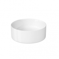 Cersanit, Crea, lavoar rotund pe blat, 35 cm, alb
