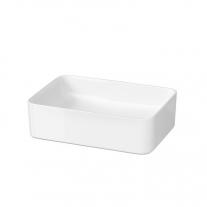 Lavoar dreptunghiular Cersanit, Crea, pe blat, 50 x 35 cm, alb