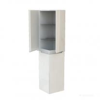 Kolo, Modo, coloana mobilier baie, 4 usi, alb lucios