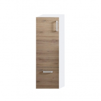 EVELIN, E 1021 GRAY/OAK, DULAP INALT, H=102CM, 574020