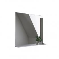 Oglinda cu etajera Kolpasan, Evelin, 80x70 cm, alba