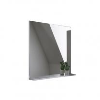 Oglinda cu etajera Kolpasan, Evelin, 65x70 cm, gri