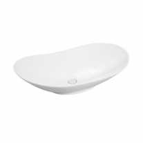 Fluminia, My Pleasure, lavoar oval fara preaplin, 63.5X37.5X14 cm, alb