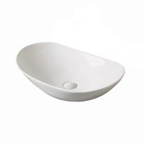 Fluminia, My Life, lavoar oval fara preaplin, 60X36X14 CM, alb