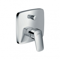 Mixer dus Hansgrohe, Logis, crom