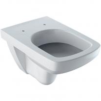Vas WC suspendat Geberit, Selnova Square, cu spalare verticala, alb