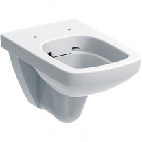 Vas WC suspendat Geberit, Selnova Square, rimfree, alb