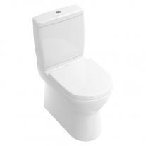 Set vas WC stativ Villeroy & Boch, O.Novo, back-to-wall, alb