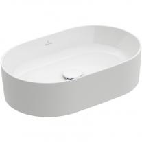 Lavoar pe blat, Villeroy & Boch, Collaro, 56 x 36 cm, oval, alb